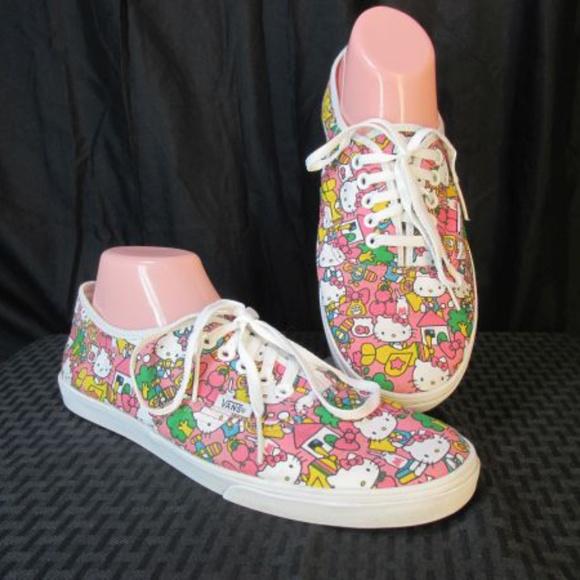 f429df930 Vans Hello Kitty Lo Pro Skater Shoes 10 Sneakers. M_5b68e18a819e908840f705a0